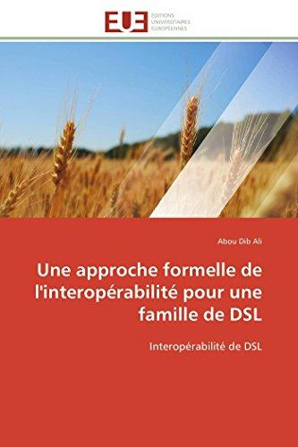 Une approche formelle de l'interopérabilité pour une famille de dsl par Abou Dib Ali