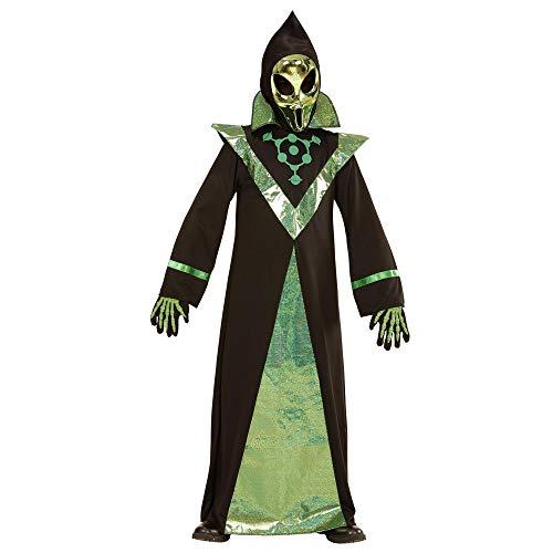 Widmann Kinderkostüm Alien (Komplette Alien Kinder Kostüm)