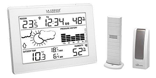 La Crosse Technology MA10006 Station météo complète avec passerelle pour smartphone et tablette système Mobile...