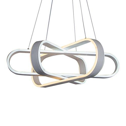 #Kronleuchter Moderne geführte Zweig-Leuchter-Ring-Glanz-Acryl Doppelseitige glühende Beleuchtung benutzt für Restaurant-Aluminium-Lampen-Schlafzimmer-Restaurant-Leuchte #Kronleuchter -