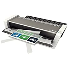 Leitz Touch Turbo 2 Laminator A3, Smart Sensor Technology, Ideal for Large Offices, Glossy White/Anthracite, iLAM Range, 75201000