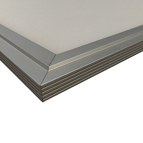 LED Panel Einlegeleuchte Basic 62x62 45W 4000K Neutralweiß Rahmenfarbe silber -