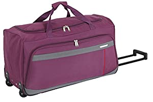 Wheeled Duffle Suitcase Hand Luggage Travel Bag on Wheels 55cm Cabin
