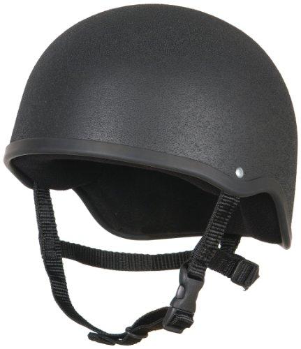 Champion Advantage casco da equitazione, unisex adulto, Black, Taglia 3