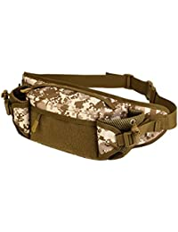Magideal Outdoor Travel Hiking Camping Multiple Pockets Adjustable Strap Mini Waist Pack Utility Pouch Belt Bag... - B071K52WWF