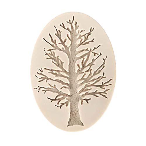 LoveLeiter Weihnachtsbaum geformt Silikon Form DIY Kuchen Blätter Silikonform Backform Dekoration Fondant Cookies Schokolade Süßigkeiten Form Werkzeuge 3D Silikon Schimmel
