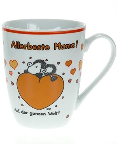 "Sheepworld 59215 Lieblingstasse ""Allerbeste Mama"", Porzellan Look-up-nummer"