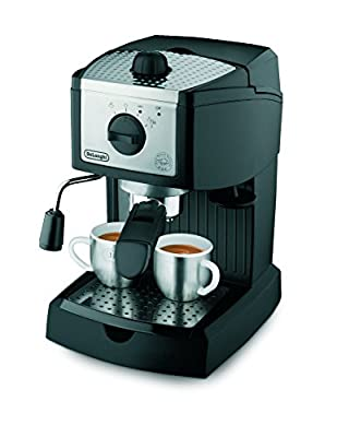 Delonghi EC156.B Traditional Pump Espresso Coffee Machine from Delonghi