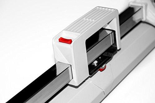 ULTRALUXX – mobile Stativleinwand 240×240 cm, 133 Zoll, weiß matt - 4