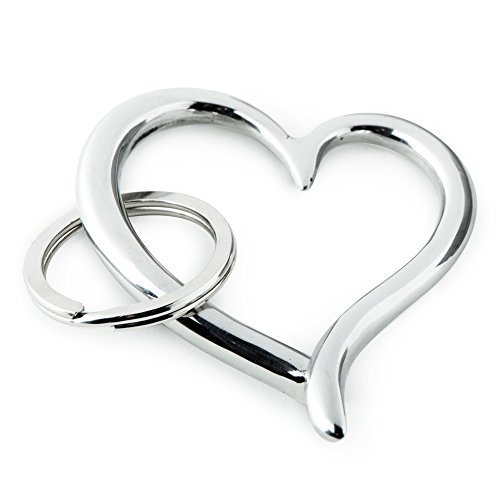 Amore Heart Key Ring