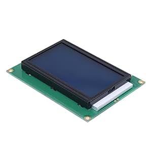 12864 128x 64 module LCD Rétro-éclairage bleu