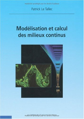 Modelisation et calcul des milieux continus