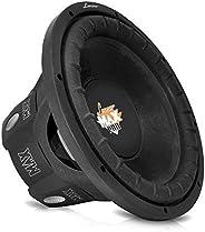 Lanzar 8 inch Car Subwoofer Speaker - Black Non-Pressed Paper Cone, Aluminum Voice Coil, 4 Ohm Impedance, 800