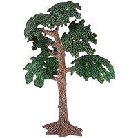SGerste 10 cm -24 cm de Altura plástico Modelo árbol jardín Diorama Paisaje Verde Paisaje Paisaje Disposición – Verde 13,5 cm