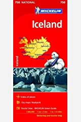 Iceland: Map (Michelin National Maps) Map
