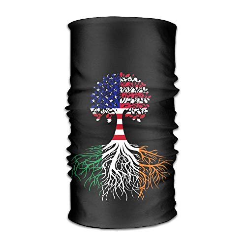 headscarves sky Headbands Family Tree Irish RootsUnisex Sport Scarf Neck Outdoor Scarf Headbands Bandana Outdoor Sweatband Headwear (Spring-sport Irish)