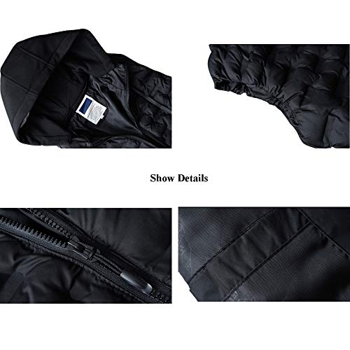 41khRptqHtL. SS500  - DZX Men's Electric Warm Gilet/Heating Vest,with USB Cable - For Outdoor Travel Work Camping Bike And Skiing,Black-2XL