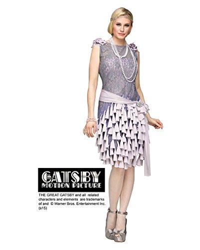 Der Große Gatsby Daisy Buchanan Damenkostüm aus den 20er Jahren L