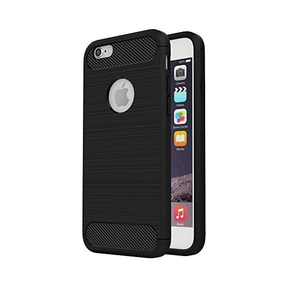 cover iphone 6s silicone nera