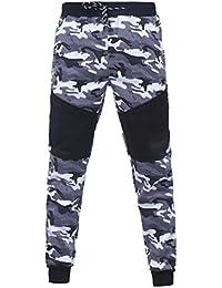 ec334b8f5a2ef Pantalon Camouflage Pantalons De Sport Pantalons Chino Pantalons Grande  Taille Homme Pantalons Jogging Pantalons Plein