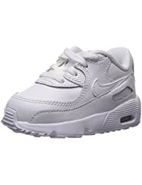 NIKE Boys Air Max 90 Leather (TD), Pantofole Unisex – Bimbi 0-24