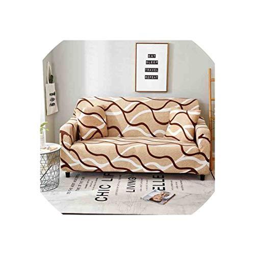 Baumwolle Königin Futon Cover (Sofa Slipcovers Elastic Sofa Slipcovers-Baumwolle für Wohnzimmer-Sofa Slipcover Couch Cover, 016, Viersitzer)