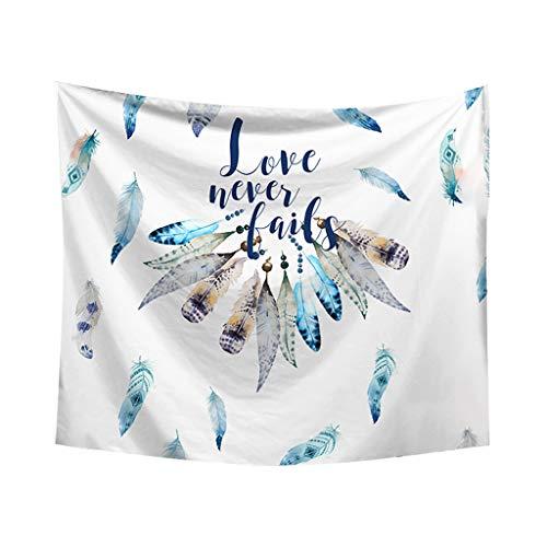 Impresión tapiz, Dkings pared colgante tapiz hippie Boho tapiz ropa de cama...
