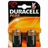 Batterie Duracell Plus -C (MN1400/LR14)Baby C 1.5V 2 [Elektronik]
