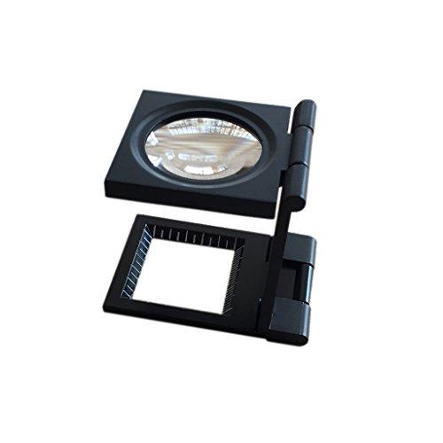 Fadenzähler 10X 28mm Klappbar Lupen
