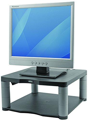 Fellowes Premium Adjustable Monitor Riser - Graphite