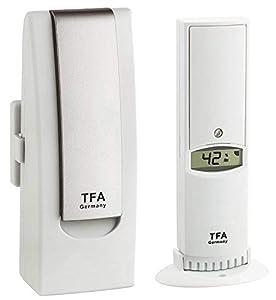 sistema web: TFA Dostmann Weather Hub Observer Web Monitoring Sistema con térmica de hygrose ...