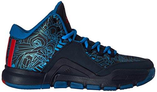 Adidas J Wall 2 Caoutchouc Baskets Conavy-Vivred-Shoblu