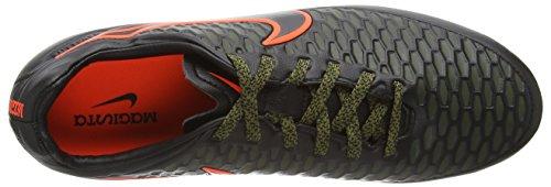 Nike Magista Orden Fg, Chaussures de football homme Schwarz (Black/Black-Rgh Grn-Hypr Crmsn 003)