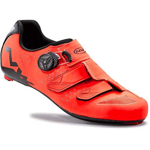 Northwave Phantom Carbon Rennrad Fahrrad Schuhe orange/schwarz 2017: Größe: 42 (Northwave Carbon)