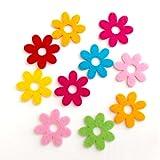 Bastelfilz Figuren Set - Kleine Blume, Filz, Textilfilz, Streudeko
