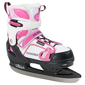 HUDORA Schlittschuhe Kinder rGo, pink – Eislaufschuhe