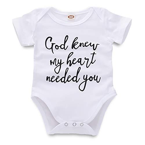 SimpleShow Mädchen Kleinkind Strampler Neugeborenes Baby Sommer Druck Anzug Onesice Elastische Kurze Kleidung Kinder Mode Set Baumwolle Kinder Outfit