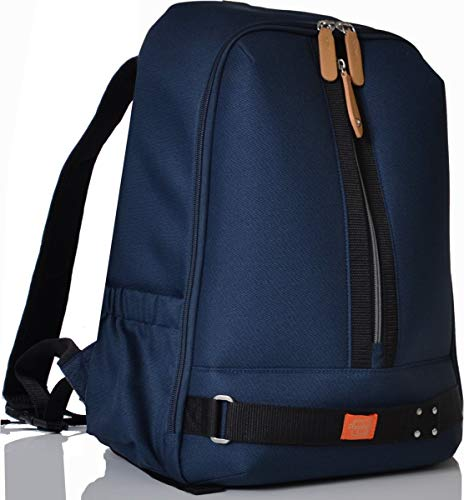 1e7dbec1afc4e PacaPod Picos Pack Navy Designer Baby Changing Bag - Unisex Luxury Blue  Backpack 3 in 1