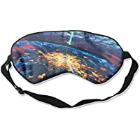 Eye Mask Eyeshade Fantasy Landscape Sleep Mask Blindfold Eyepatch Adjustable Head Strap preisvergleich bei billige-tabletten.eu
