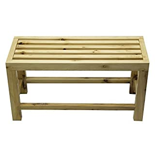 10 in. Wooden Sitting Bench