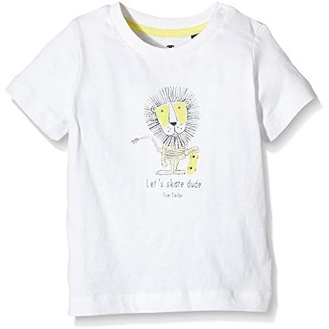 Tom Tailor Kids Front and Back Artwork T-Shirt, Camiseta Para Bebés