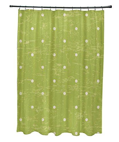 E von Design Dorothy Dot, Vorhang für die Dusche, hellgrün Dorothy Dots