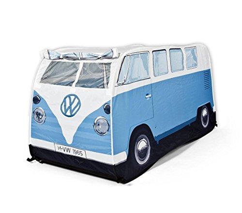 Close Up VW Bulli Spiele-Wurfzelt Blau für Kinder (77cm hoch)