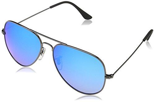 MSTRDS Unisex PureAv Sonnenbrille, Grau (Gun/Blue 5157), (Herstellergröße: one Size)