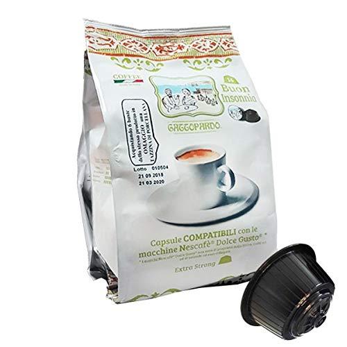128 Capsule Caffè - Insonnia - Comp. Dolce Gusto - Gattopardo