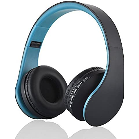 Mini Kitty Auriculares inalambricos bluetooth, Micrófono, MP3 Player , MicroSD / TF Música, Radio FM Digital 4 en 1 EDR Manos Libres Auriculares para Los todos dispositivo compatible con Bluetooth -