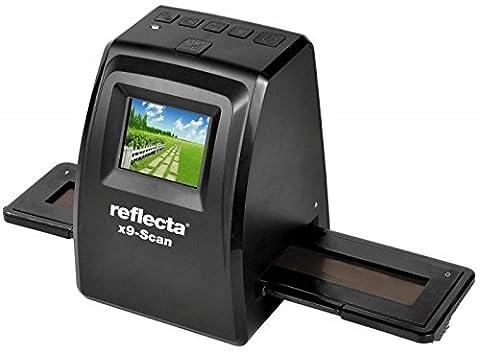 Reflecta x9-Scan Film/slide scanner 1800 x 1800DPI Schwarz - Scanner (1800 x 1800 DPI, 24 Bit, Film/slide scanner, Schwarz, LCD, 6,1 cm (2.4 Zoll))