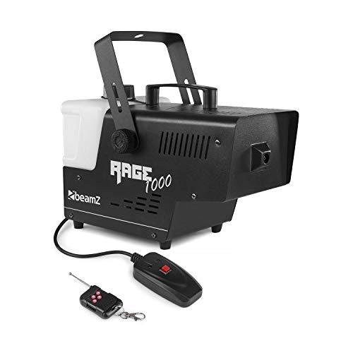 1000w Nebelmaschine - Beamz Rage 1000 Nebelmaschine mit Fernbedienung