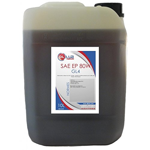 DLLUB - HUILE BOITE SAE 80W GL4 EP 80W - 10 litres