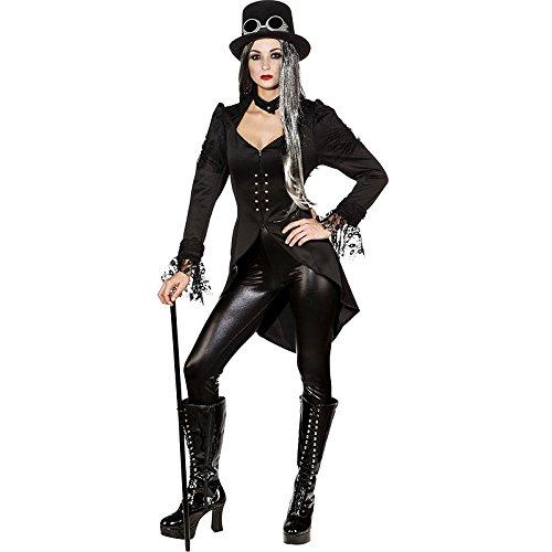 NEU Damen-Kostüm Gothic Frack, Gr. (Damen Frack Kostüm)